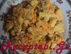 kartofilisa da stafilos salati