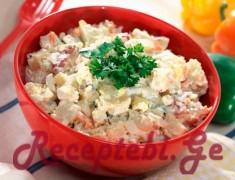 kartofilsi salata