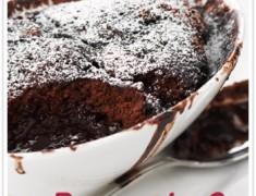 Chocolate-self-saucing-pudding