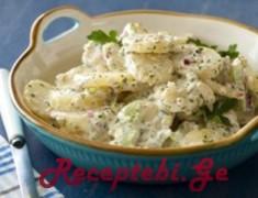 kartofilis salata niaxurit