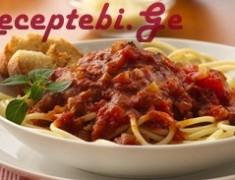spageti pamidvrit