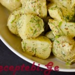 kartofilis salata mdogvit
