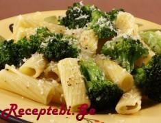 makaroni brokolit