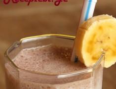 bananai milksheiki shokoladiy