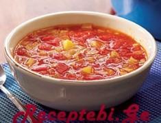 kartofilis da pomidvris supi