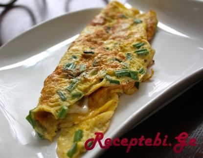 omleti mwvane xaxvit