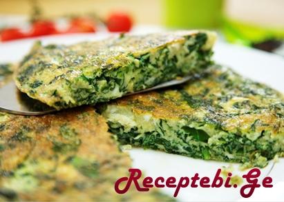 spinach frittata 3