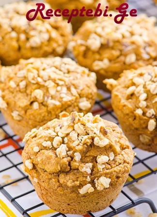 closeup-pumpkin-granola-muffins-recipe