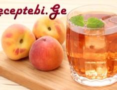 peach-tea
