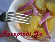 kartofilis salati xaxvit