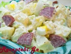 kartofilsi salatra dzexvit