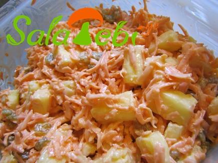 stafio salata qishmishit