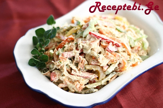 chicken-salad-with-bell-peppers