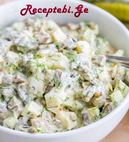 sokos salata kartflit